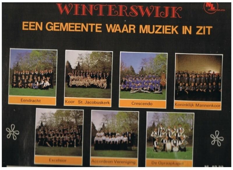 Winterswijk, een gemeente waar muziek in zit.