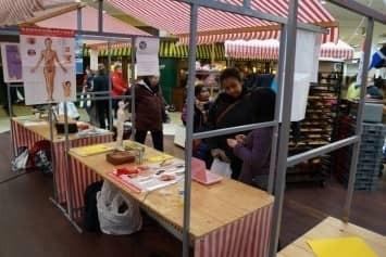 Buurtleren Markt in WC Broekerveiling