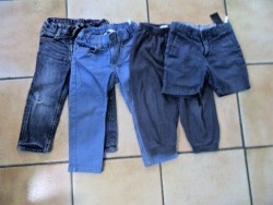 E 5 -> Spijkerbroekje H&M, maatje 92, NIEUW