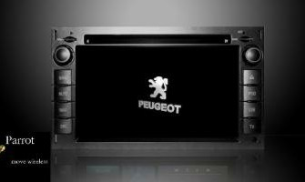 NAVIGATIE PEUGEOT 307 DVD PARROT CARKIT TMC HD