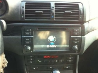 bmw navigatie e46 dvd parrot android wifi obc pdc