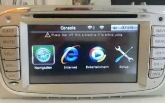 ford s max navigatie dvd carkit touchscreen 3G
