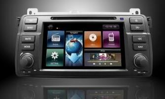 AUTORADIO NAVIGATIE BMW E46 DVD PARROT CARKIT OBC