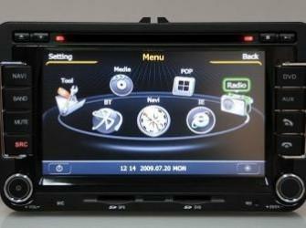 NAVIGATIE VW PASSAT DVD TELEFOONBOEK INTERNET RNS