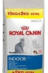 Royal Canin indoor 27 10 kg + 2 kg gratis €47,00!