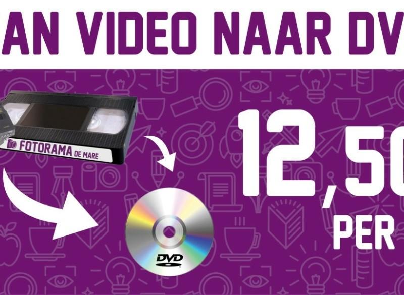 FOTORAMA de MARE OMZETTEN NAAR DVD / CD