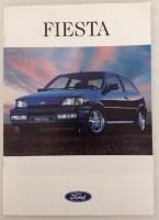 oude folder/brochure Ford Fiesta (31 blz)