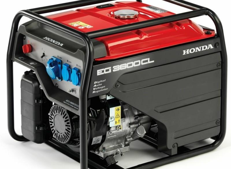 Generator Honda EG3600, 3,6 kVA, D-AVR |Stroomgenerator, St…