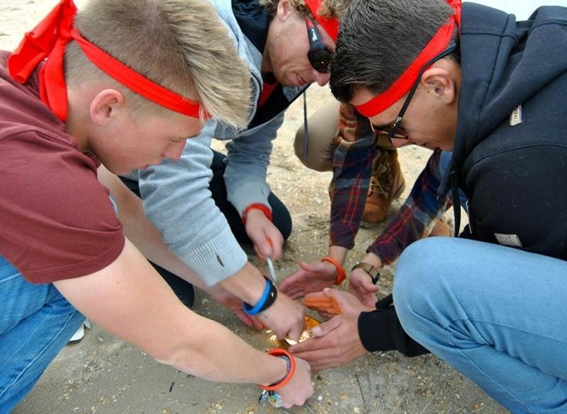 Groepsuitje - Expeditie Robinson in de Stad - Uitjes en Ete…