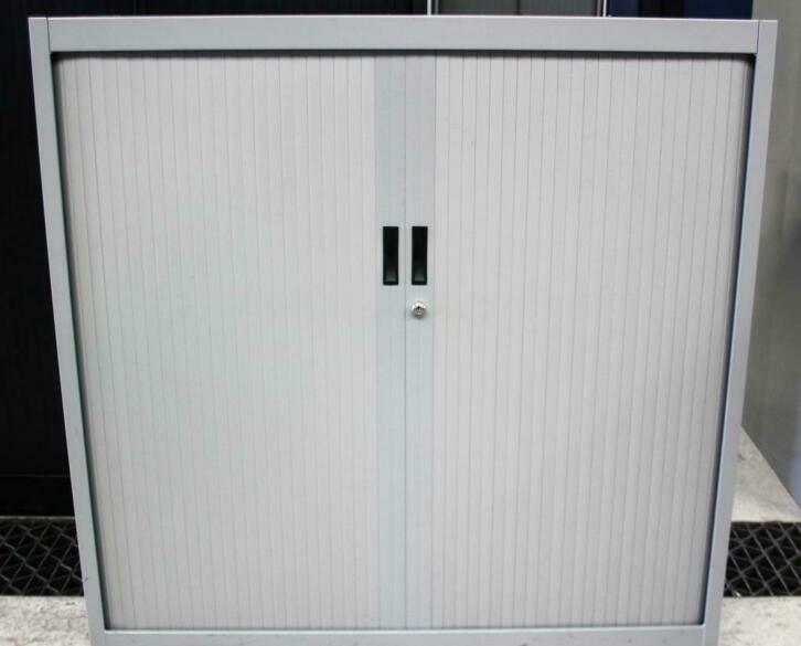 Roldeurkasten, Archiefkasten, Garagekasten, 119x120x45cm