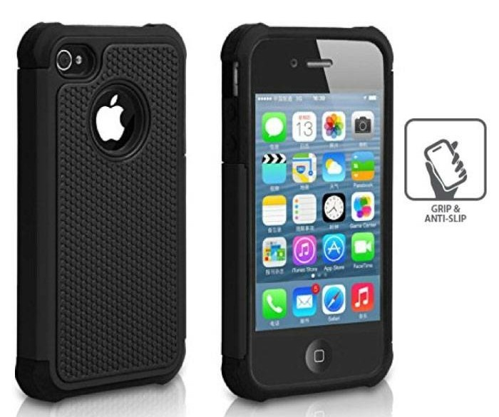 Voor Apple iPhone 4S - Hybrid Armor Case Cover Cas Silicone…