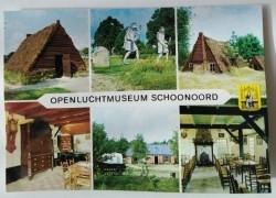 Ansichtkaart Openluchtmuseum Schoonoord - 1985