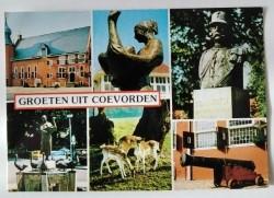 Ansichtkaart - Groeten uit Coevorden - 1984