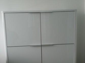Wit hoogglans dressoir