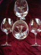 4 Eisch luxe wijnglazen,Eisch staat gegraveerd in de voet…