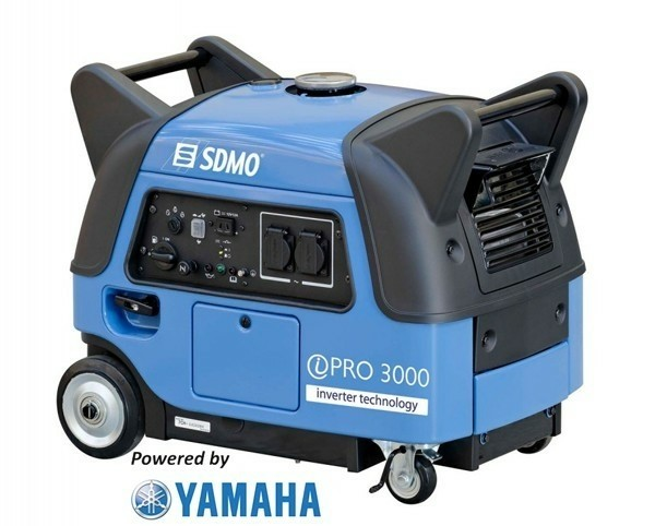Super Stille Yamaha inverter van SDMO, 3 kVA | Generator, A…