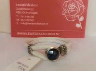 luxe armband wit
