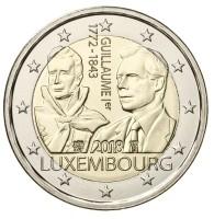 Luxemburg 2 Euro 2018 Willem I