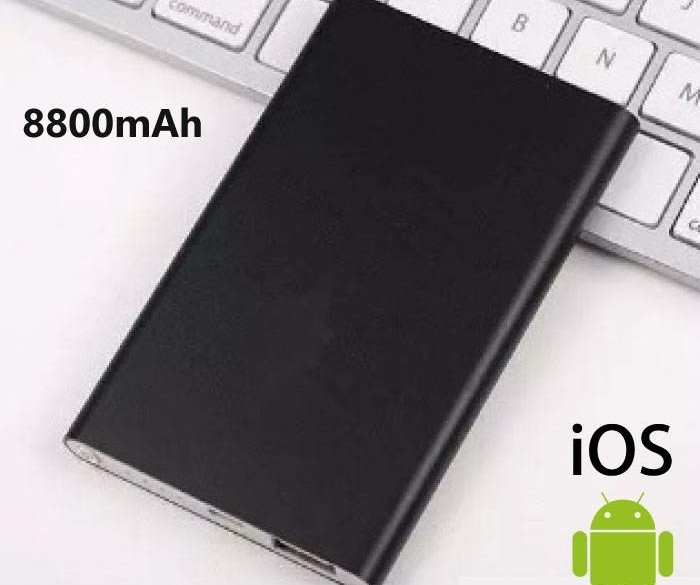 Externe 8800mAh Ultra Thin Powerbank Noodaccu Oplader Slim…