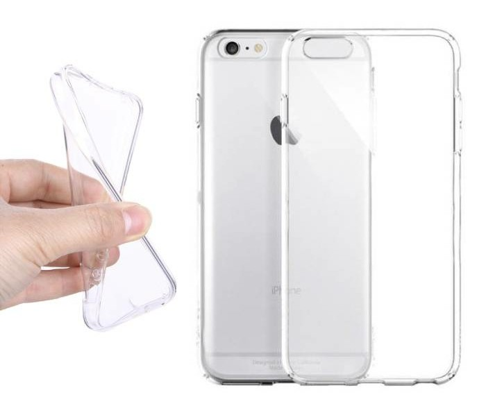 2-Pack Transparant Clear Case Cover Silicone TPU Hoesje iPh…