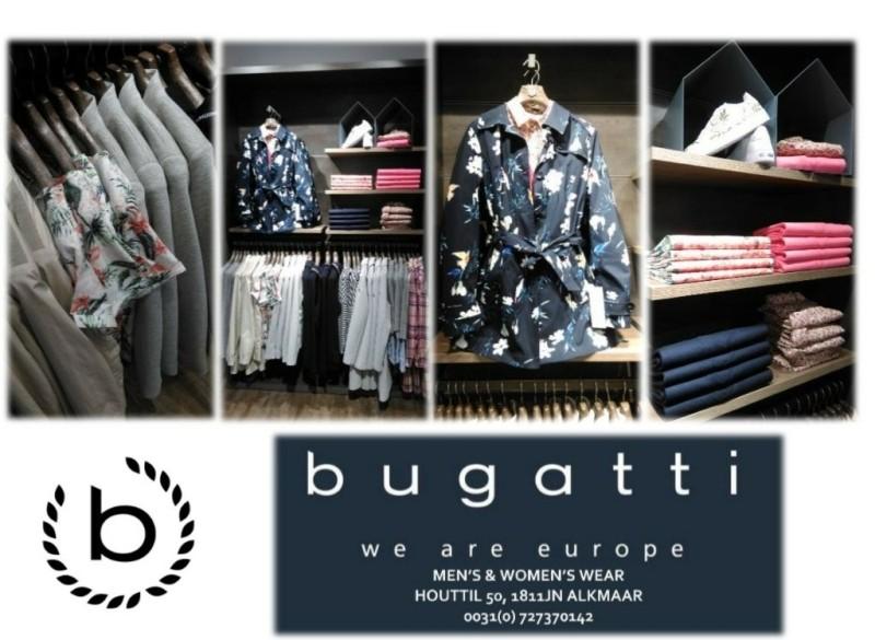 BUGATTI Men's&Women's Wear Nieuwe Collectie