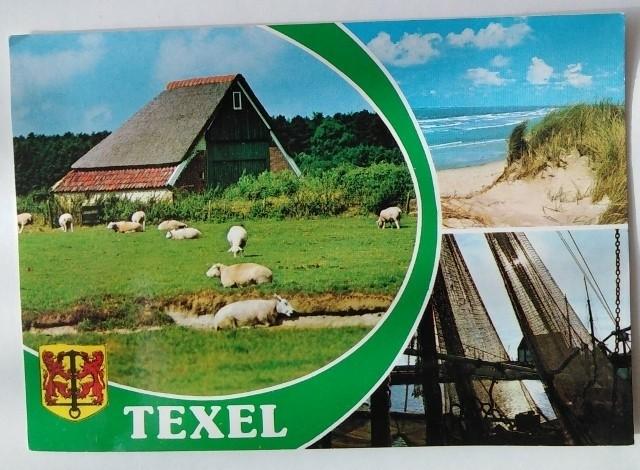 ansichtkaart texel -1984 - nederland - koopplein.nl