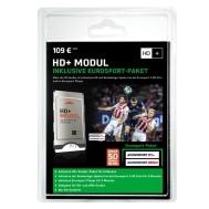 HD+ module en kaart Duits met Eurosport