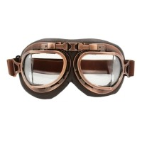 CRG vintage pilotenbril Glaskleur: Helder