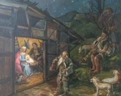 Max Rimböck (Rimboeck) (1890-1956) - \De geboorte van Jezus…