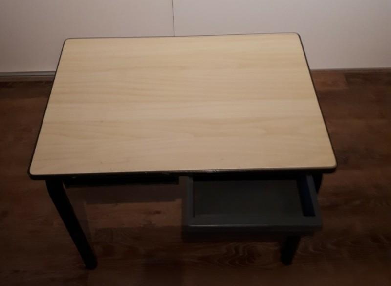 Schooltafel + stoel