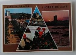 Ansichtkaart - Costa Brava - Lloret de Mar - 1976