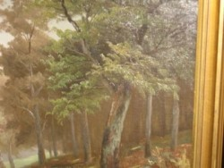 Olieverf schilderij ca WO 2 40X60