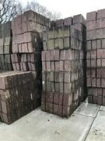 19074 240m2 rood 30x30x6cm betontegels tuintegels stoeptege…