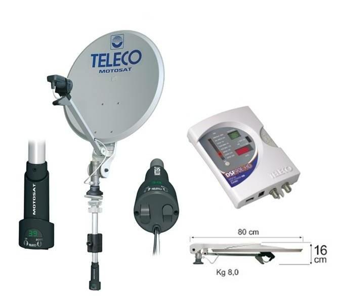 Teleco Motosat Digimatic 85cm