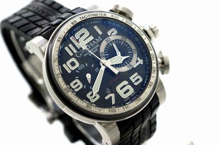 Graham - Silverstone Stowe Chronograph- Ref.2BLDC.B11A - He…