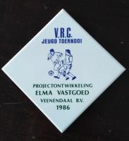 Tegel - V.R.C. jeugd Toernooi - Elma Vastgoed - 1986