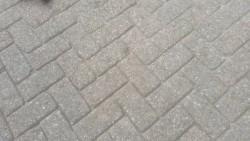 19085 ROOIKORTING 12.000m2 heide betonklinkers straatstenen…