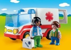 Playmobil 1.2.3 9122 Ziekenwagen