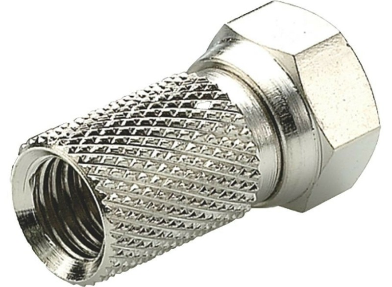 Triax F-Connector schroef 4.9/6.8mm