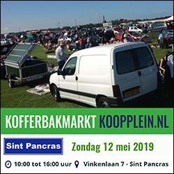 12 mei 2019 Kofferbakmarkt Sint Pancras