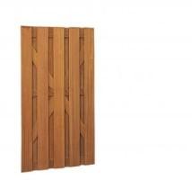 Hardhouten deur recht vertikaal 100 x 180 cm