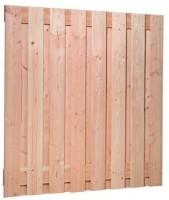 Plankenscherm Douglas 17-planks 180x180cm geïmpregneerd