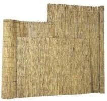 Rietmat 1,5-2 cm dik met perlondraad gevlochten 175x200cm