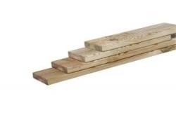 Vlonderplank grenen 2,8 x 14,5 x 300 cm
