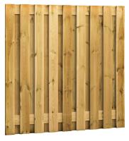 Plankenscherm 17/19-planks 180 x 180 cm verticaal recht ACT…