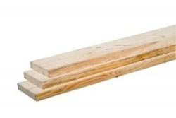 Steigerhout plank 2,8 x 19 x 500 cm blank ruw