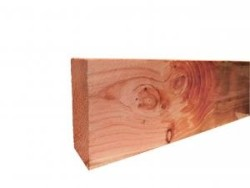 Douglas fijnbezaagde gording 5,0 x 15,0 x 400 cm groen geï…