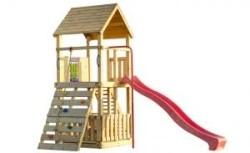 Speeltoestel Orang-oetan met punt dak