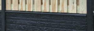 Hout-Beton rotsmotief afdekkap t.b.v. betonplaat 4,5x8x180c…