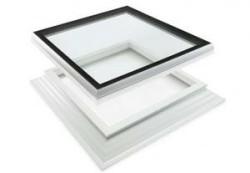 Dakkoepel iWindow 2 incl. opstand deluxe glas 100x100 cm